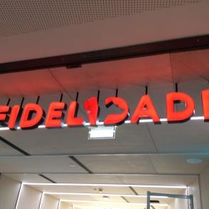FIDELIDADE INAUGURA STUDIO NA NOVA SBE